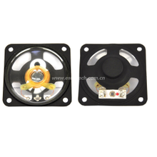 Loudspeaker YD65-3-8N12.5M-R 66*66mm Square ROHS Black Frame Micro Mylar Audio Speaker Waterproof Speaker Unit-ESUTECH