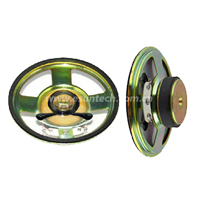 Loudspeaker YD70-01-8F32M 70mm 2.5inch Mylar Cone Loudspeaker Unit Waterproof Speaker Parts-ESUTECH