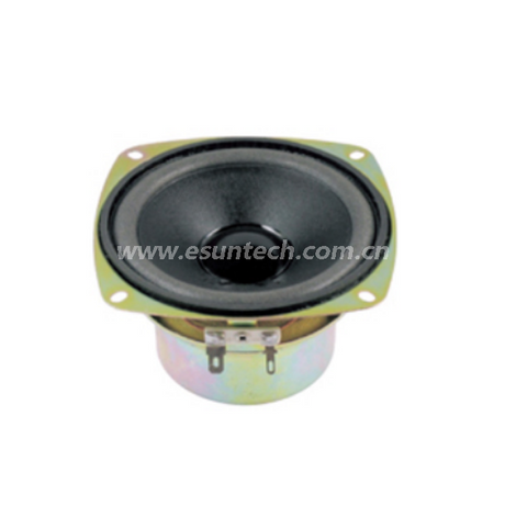 Loudspeaker YD100-16-4F70U 4 Inch YD100 Full Range Stereo Loudspeaker Unit Raw Speaker Drivers with magnet cover-ESUTECH