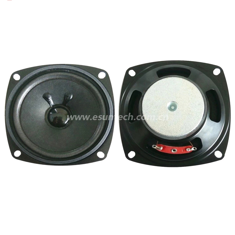 Loudspeaker 77mm YD77-46-4F40P-R Min Full Range Multimedia Speaker Drivers-ESUNTECH