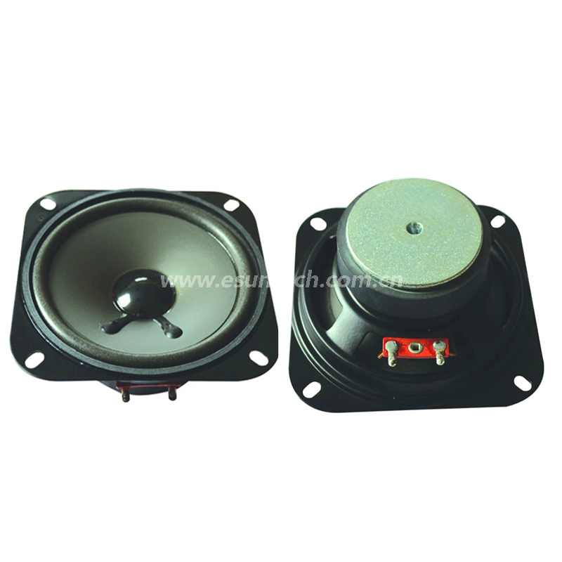 Loudspeaker 102mm YD102-03-8F60P-R Min Full Range car Speaker Drivers-ESUNTECH